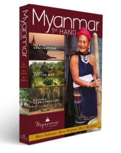 Myanmar 1st Hand Travel Guide Book Cover